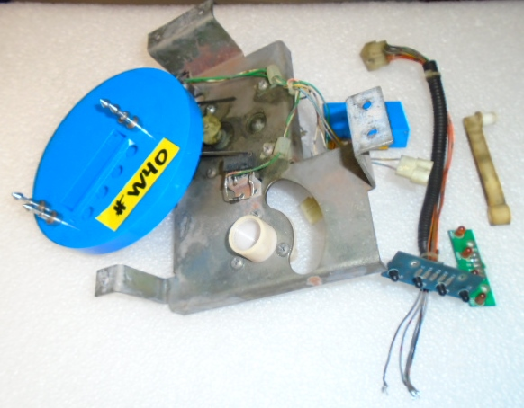 ADDAMS FAMILY Pinball Machine Game Partial BOOKCASE MOTOR ASSEMBLY #W40