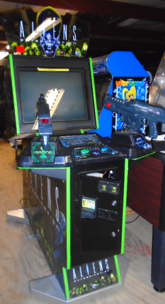 ALIENS EXTERMINATION Upright Arcade Machine Game for sale