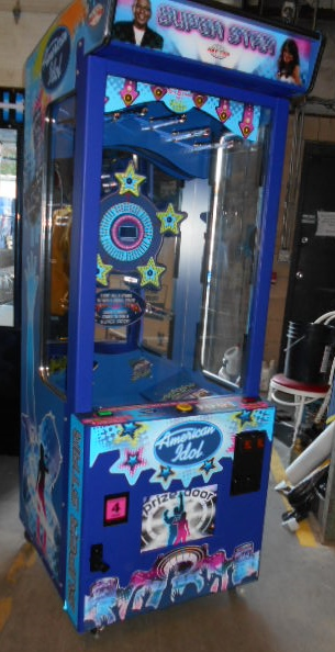 american idol superstar prize merchandiser redemption arcade machine
