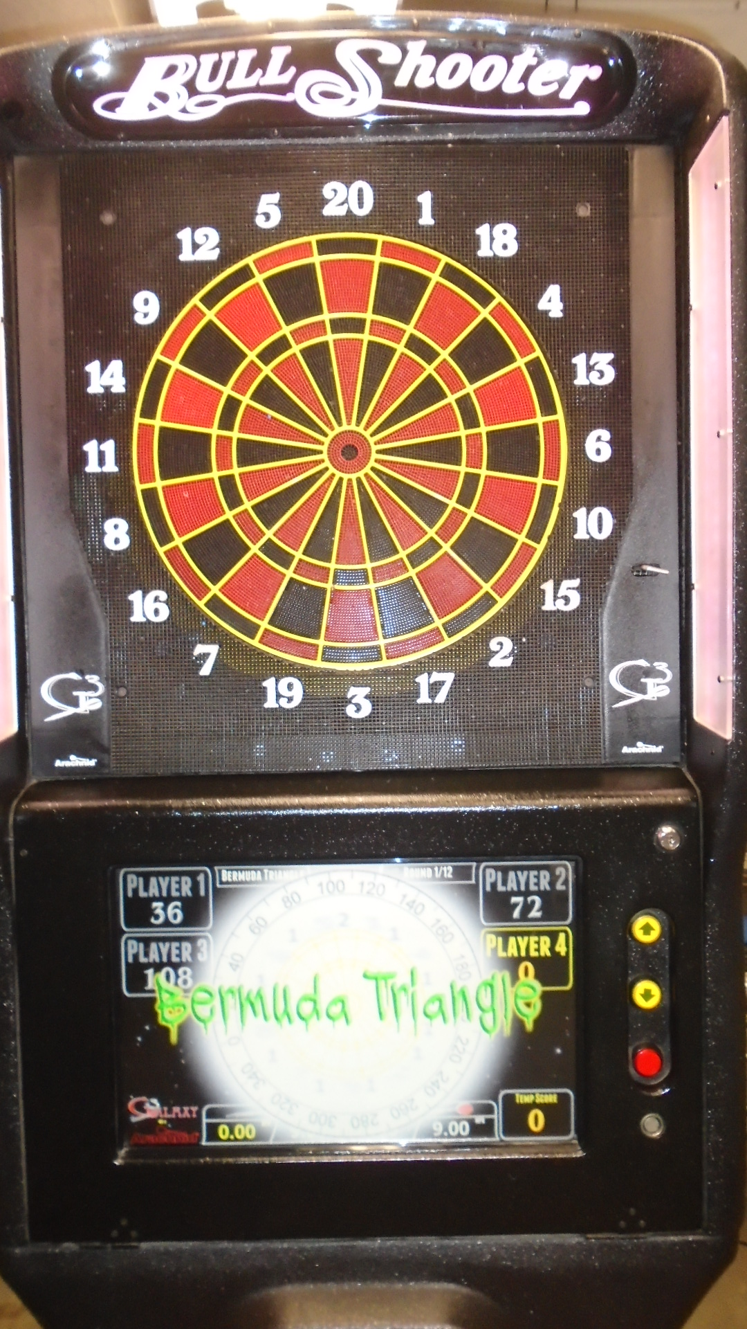 Arachnid Galaxy 3 Live Commercial Electronic Dart Machine
