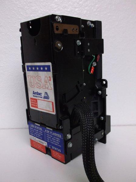 Ardac Usa 3 110v  1 Dollar Bill Validator Acceptor Changer
