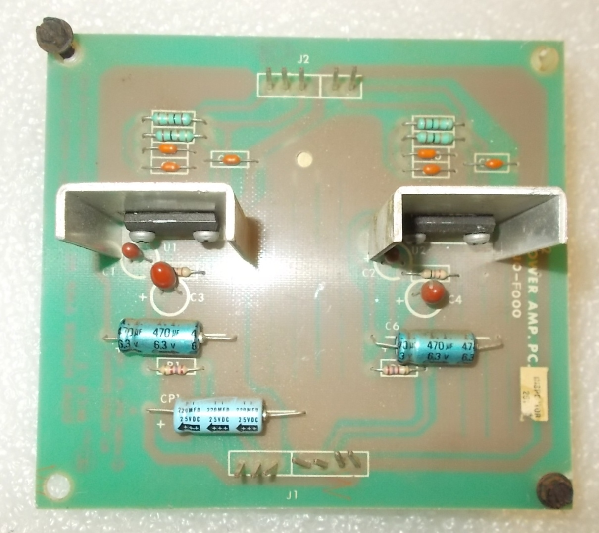 Bally Midway Arcade Machine Game Pcb Printed Circuit Dual Power Amp The On A Good Quality Or Common Board 814
