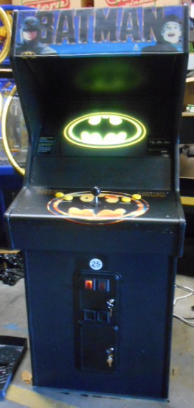 Batman Upright Arcade Machine Game For Sale By Atari