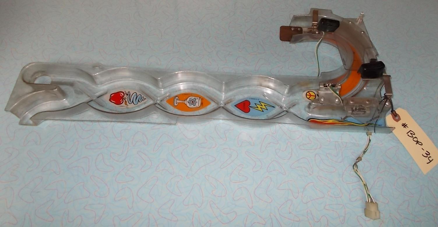 BRIDE OF PINBOT Pinball Machine Game Heartbeat Ramp %23A 14359 %23BOP 34 %281%29 bride of pinbot pinball machine game heartbeat ramp a 14359 \