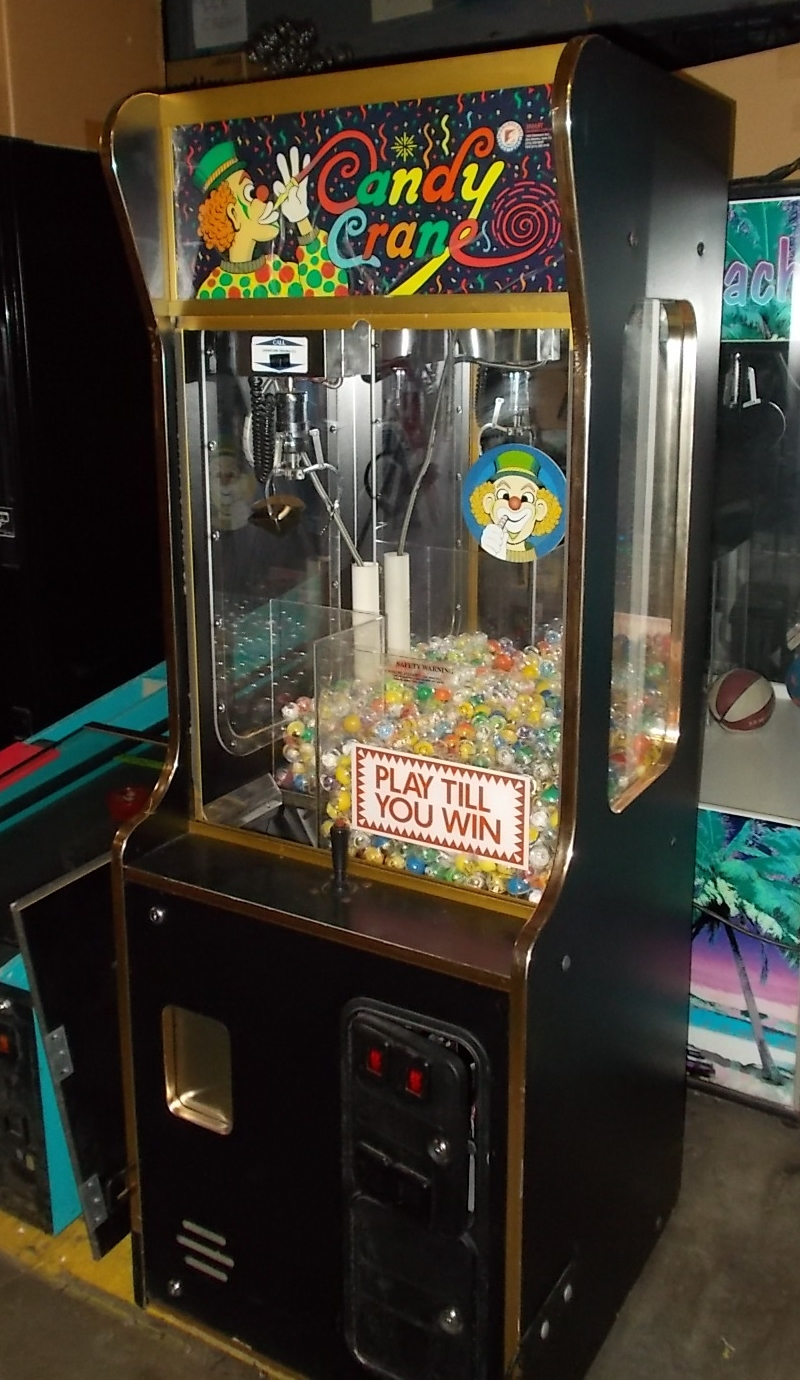 candy crane play till you win arcade machine game for