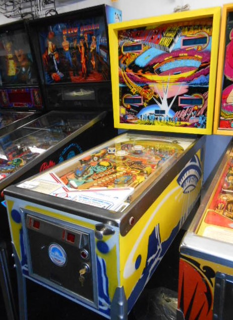 Free Shipping Sites >> CLOSE ENCOUNTERS OF THE THIRD KIND Pinball Machine Game ...