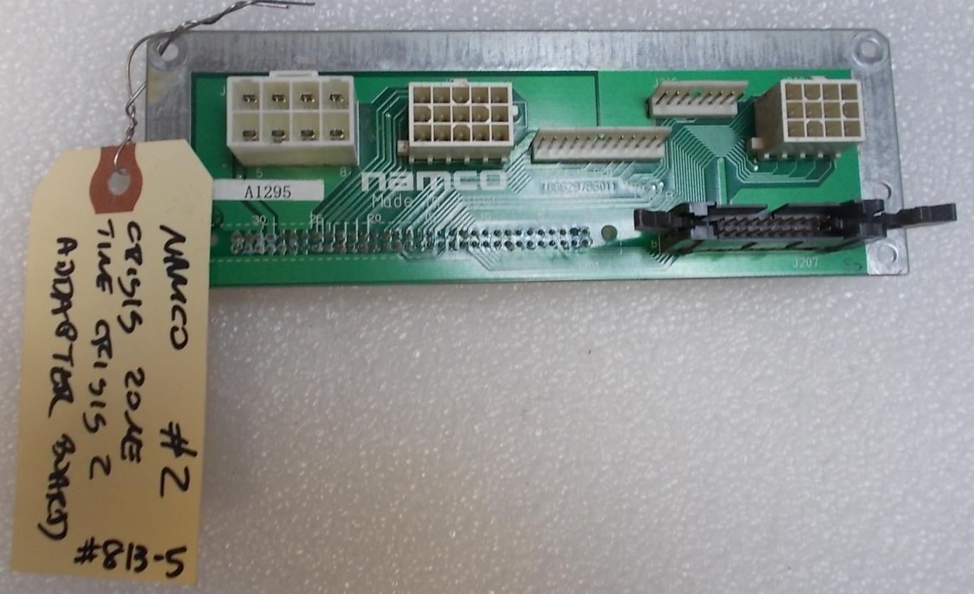 Crisis Zone Time 2 Adapter Arcade Machine Game Pcb Printed Circuit Board Namco