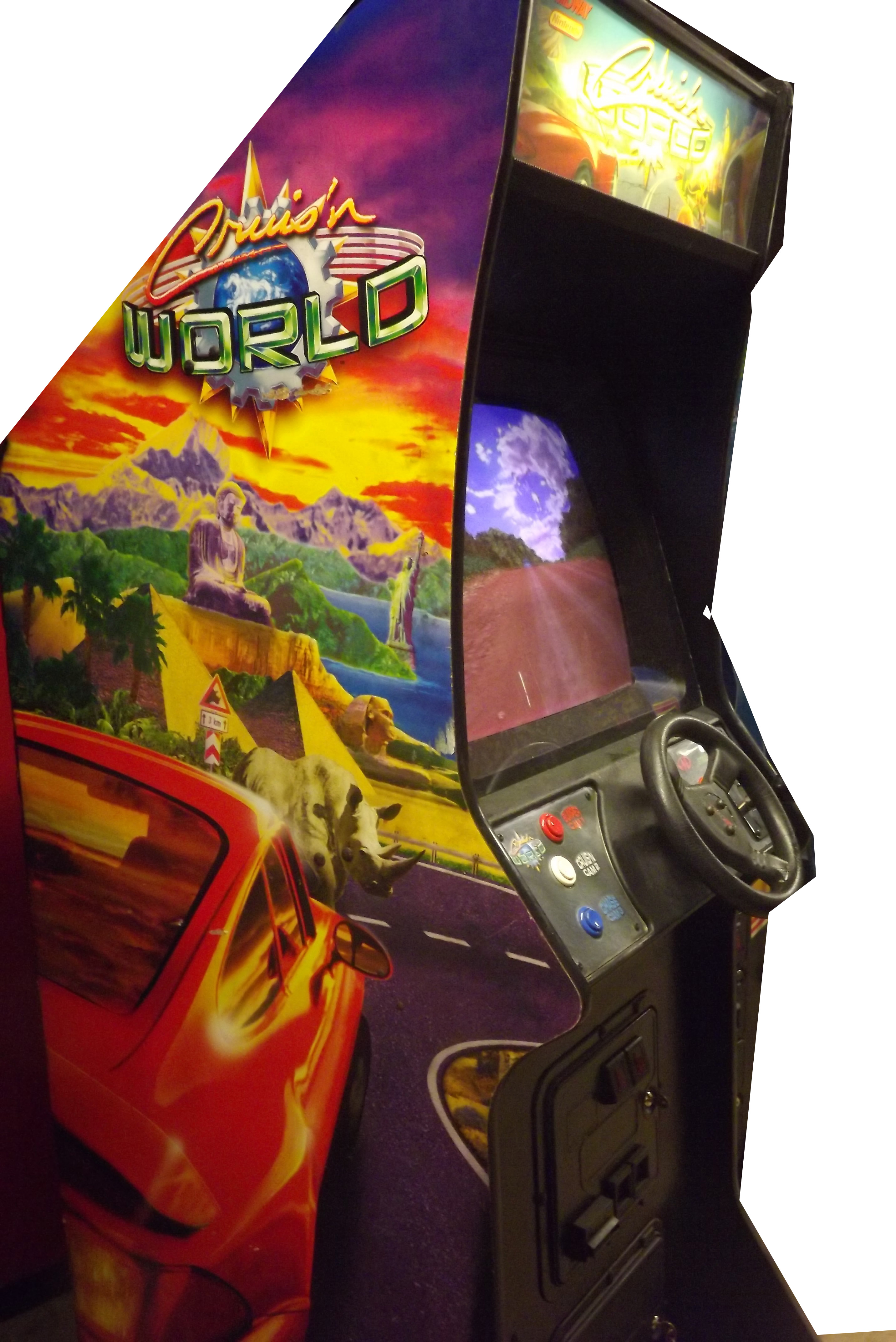 Cruis N World Upright Arcade Machine Game For Sale By