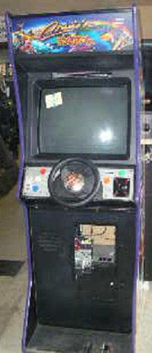 CRUIS'N EXOTICA Upright Arcade Machine Game for sale