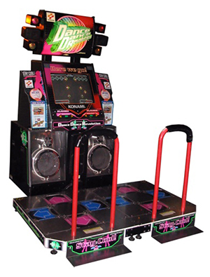 Dance Dance Revolution 8th Mix Extreme Arcade Machine Game