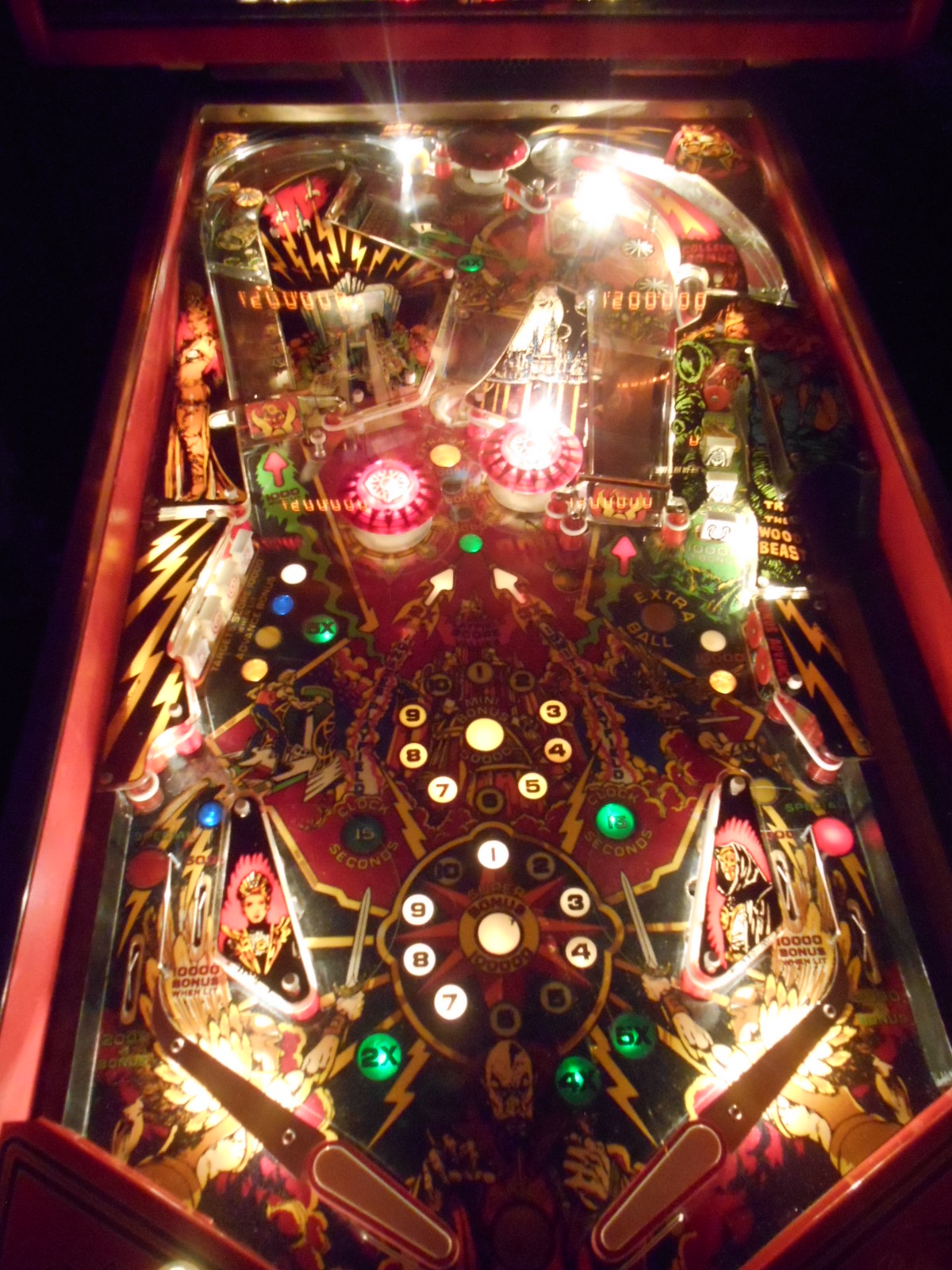 flash gordon pinball machine