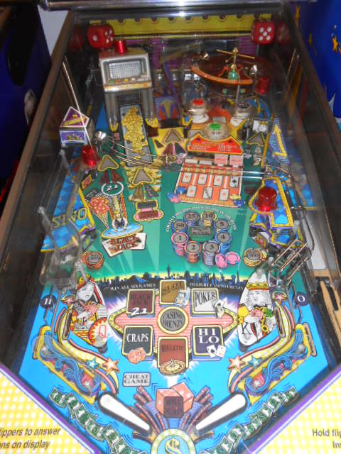 high roller casino pinball machine for sale