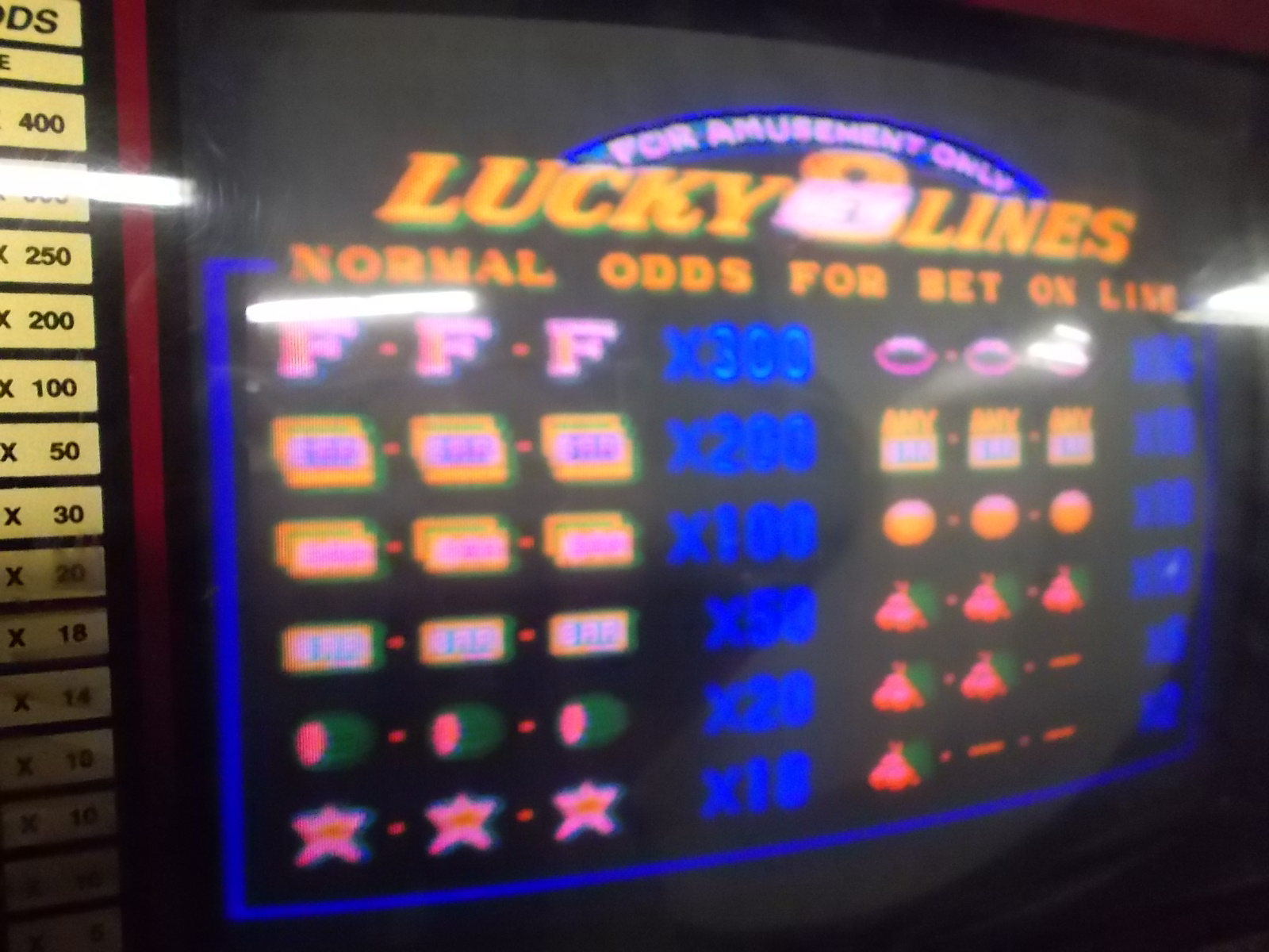 Lucky 8 Lines Arcade Machine Game Pcb Printed Circuit Board 2 As Games Is