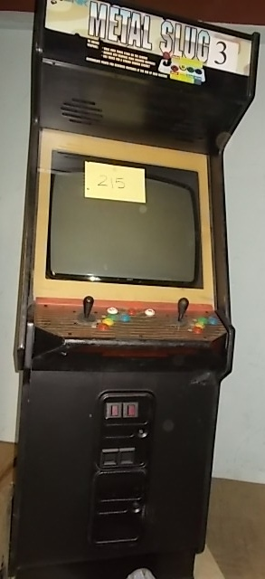 METAL SLUG 3 Arcade Machine Game for sale by SNK! | COIN-OP PARTS ...