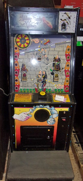Midway Addams Family Values Redemption Arcade Machine Game