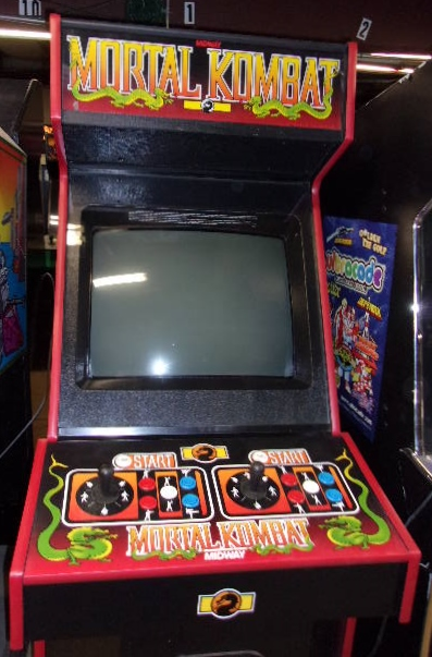 MORTAL KOMBAT Upright Video Arcade Machine Game for sale