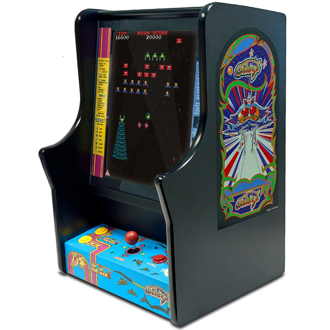 Ms Pac Man Pacman And Galaga Bartop Countertop Home
