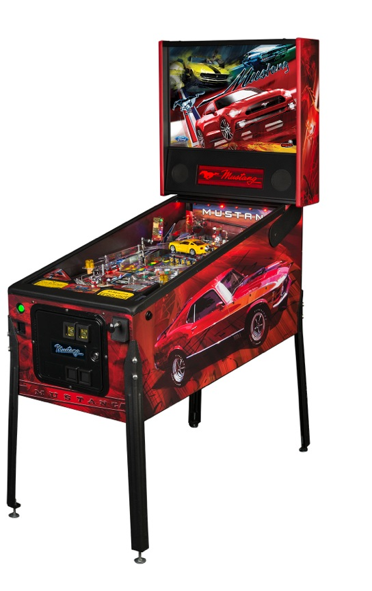 in the box pinball machine for sale