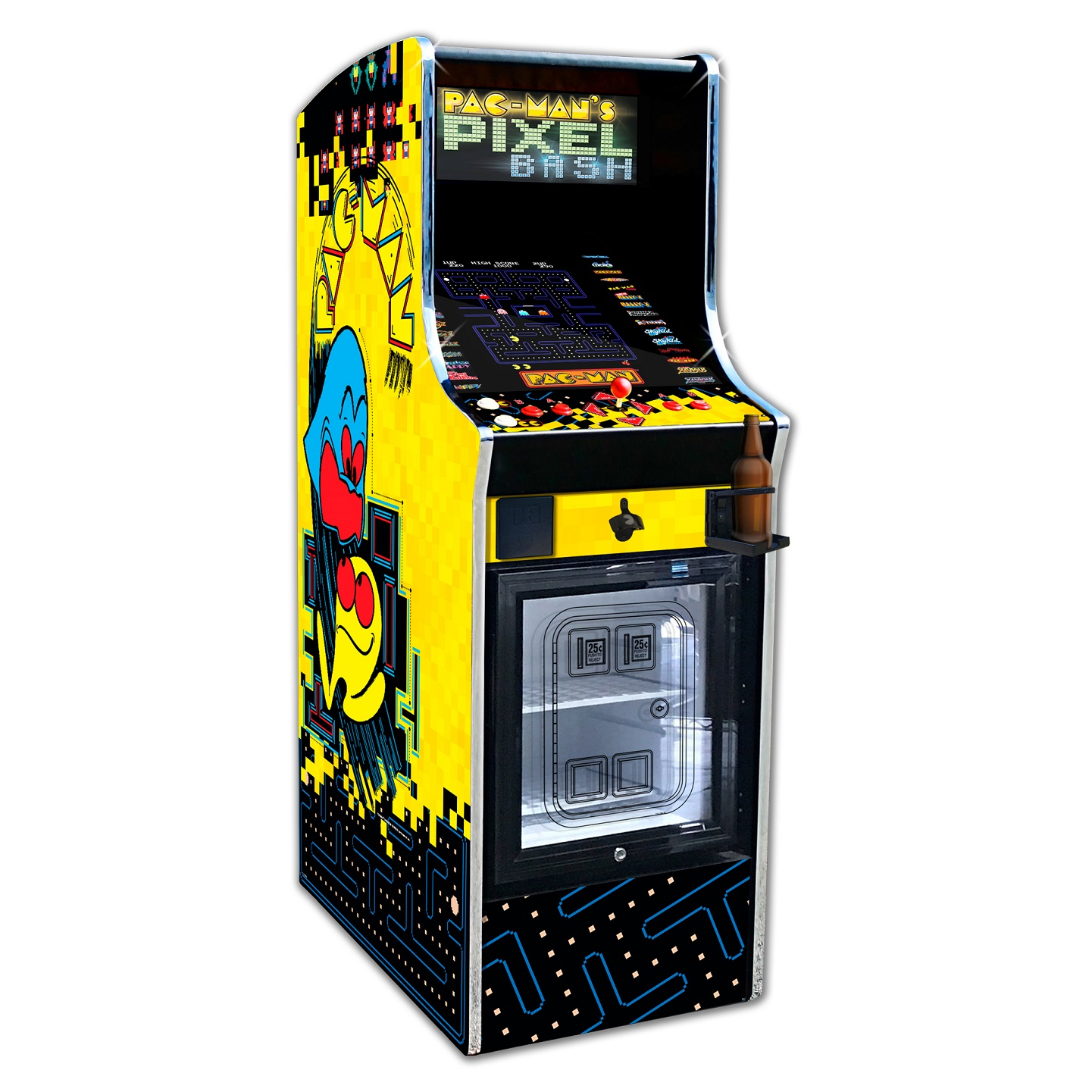 Fine Namco Pac Man Pixel Bash Arcade Machine Game Home Cabaret Download Free Architecture Designs Remcamadebymaigaardcom