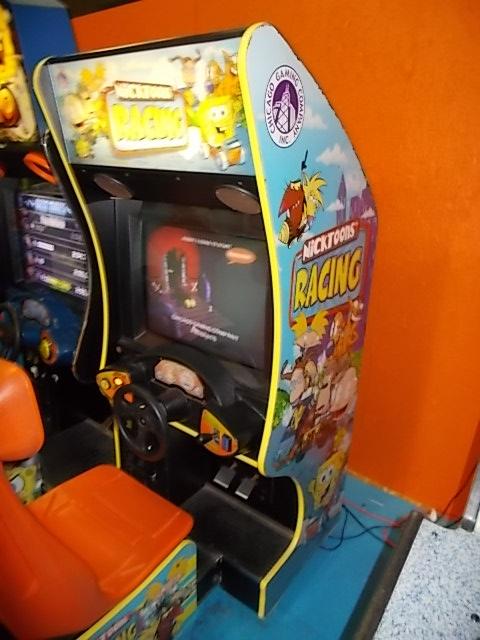 nicktoons racing sit down arcade machine game for sale flat screen