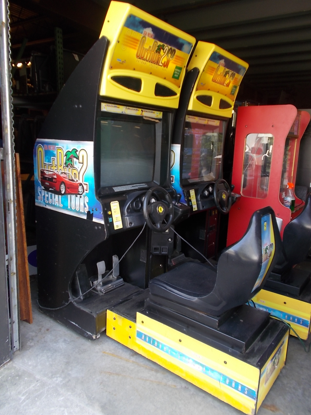 OUT RUN 2 SP Sit-Down Arcade Machine Game for sale by SEGA ...