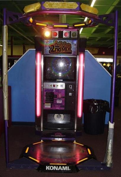 para para paradise 2nd mix arcade dance machine game for