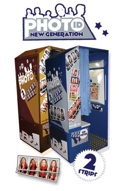 Photo Booth Digital New Generation Photo Id Arcade Machine By Apple