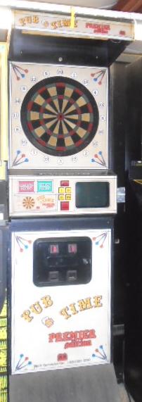 Pub Time Premier Edition Dart Arcade Machine Game For Sale