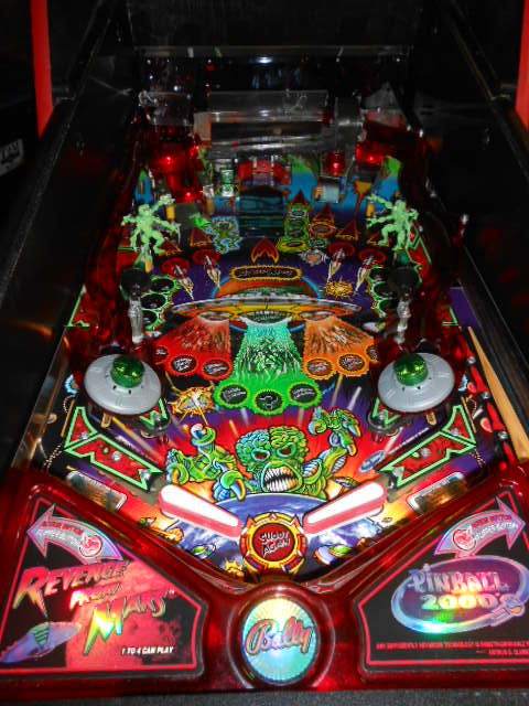 Revenge From Mars Pinball Machine Game For Sale By Bally