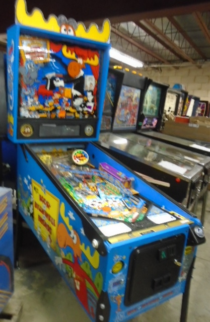 Rocky And Bullwinkle And Friends Pinball Machine Game For