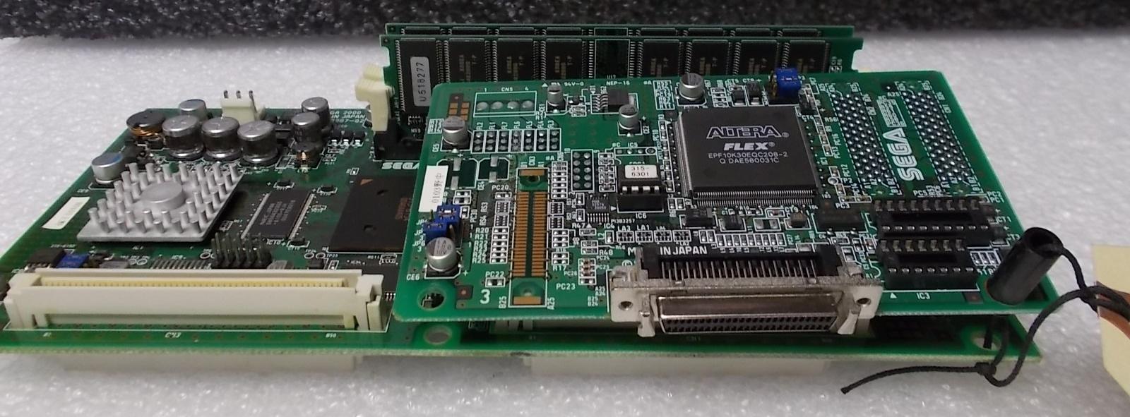 SEGA NAOMI Arcade Machine Game PCB Printed Circuit DIM Board