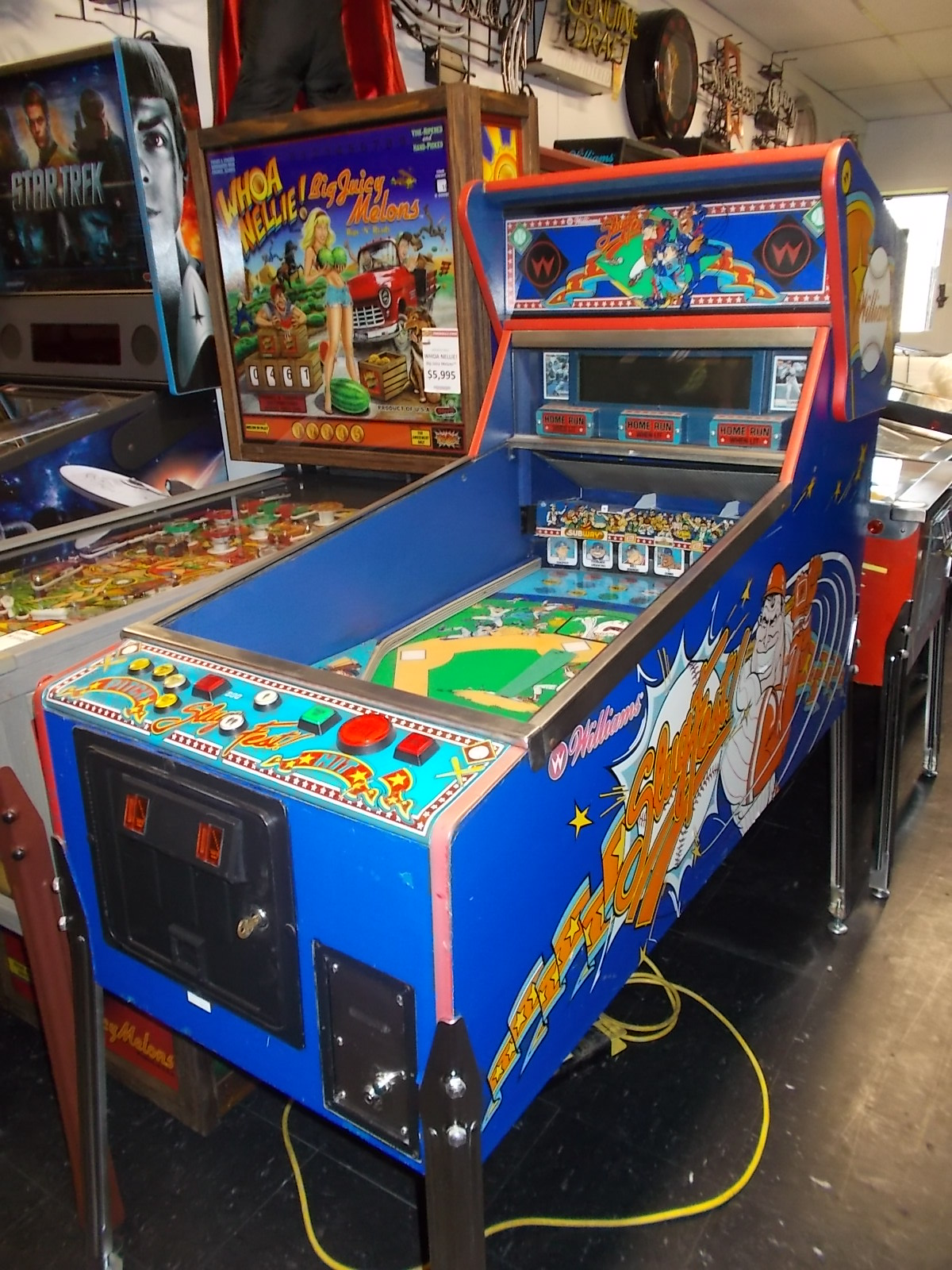 Used Arcade Games Sale : Used pinball machines coin op and arcade games