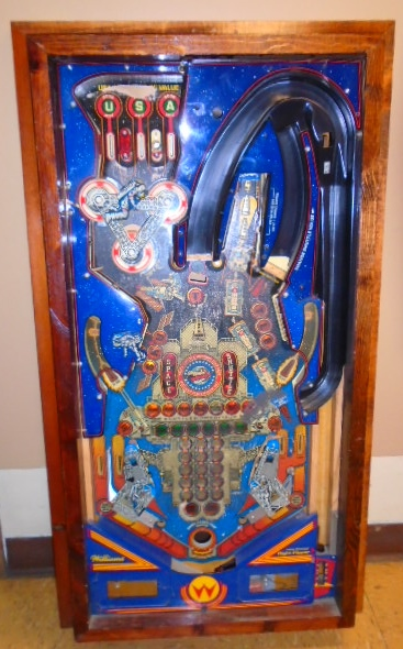 SPACE SHUTTLE Pinball Machine Game Playfield, Apron, etc ...