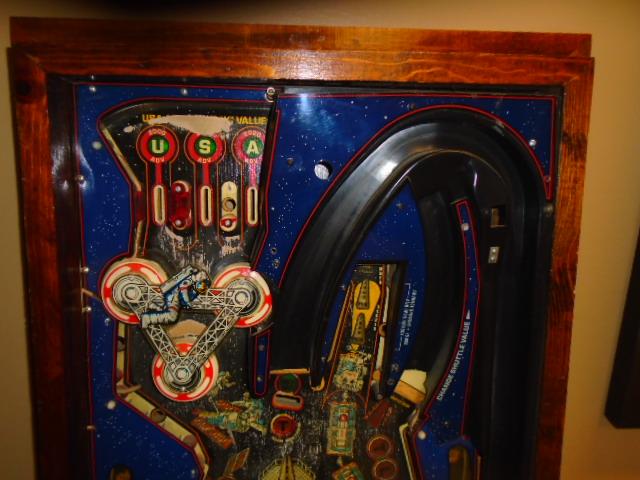 SPACE SHUTTLE Pinball Machine Game Playfield, Apron, etc ...