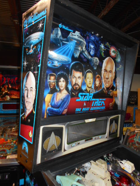 Free Shipping Sites >> STAR TREK:THE NEXT GENERATION Pinball Machine Game for ...