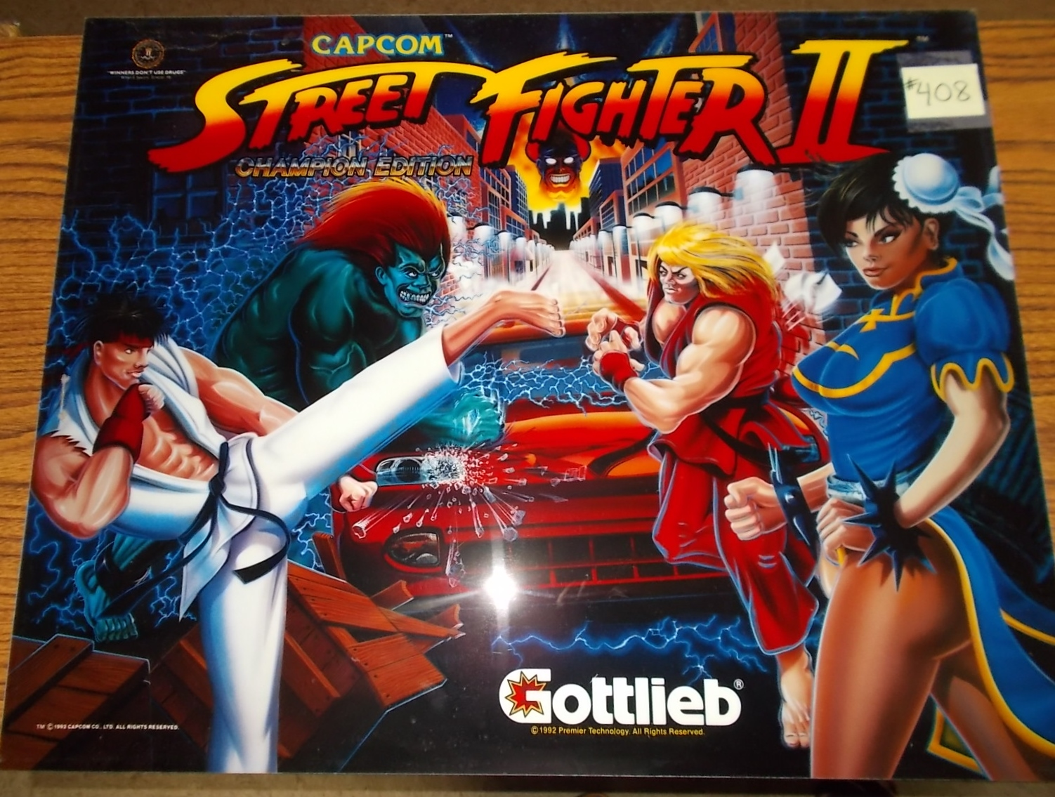 Gottlieb Pinball Schematics Free Wiring Diagrams Street Fighter Ii Ce Machine Game Translite Bally