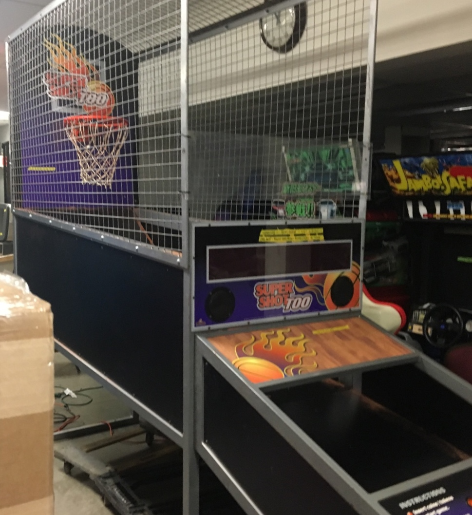 Super Shot Too Basketball Arcade Machine Game For Sale By Skee Ball