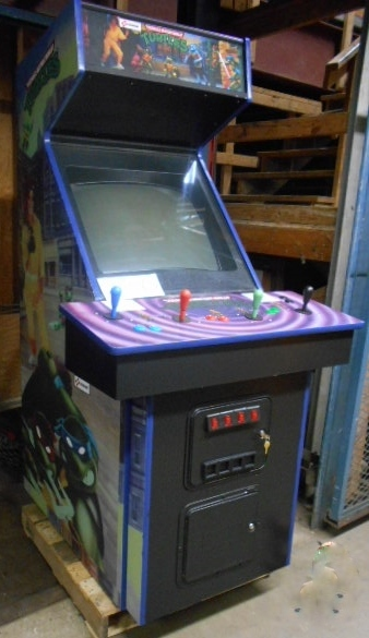 turtles in time arcade machine for sale