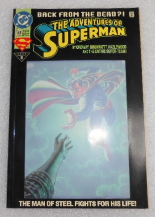 The Adventures Of Superman Back From The Dead 500 Comic