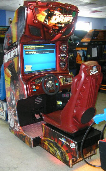 RAW THRILLS THE FAST and THE FURIOUS:TOKYO DRIFT Arcade