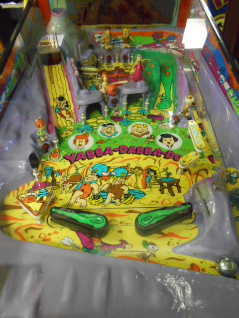 Used Car Parts For Sale >> THE FLINTSTONES Pinball Machine Game for sale Redemption ...
