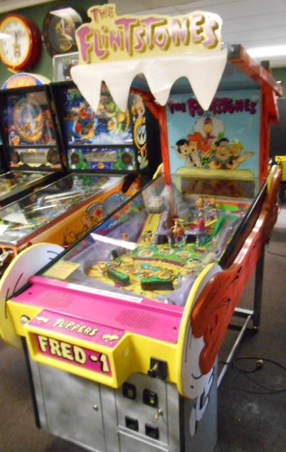 the flintstones pinball machine game for sale redemption