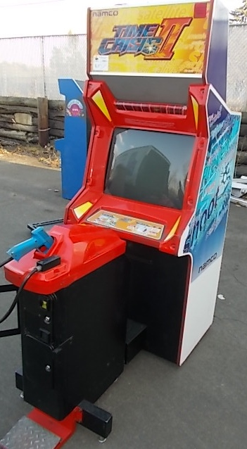 TIME CRISIS II SINGLE PLAYER Upright Arcade Machine Game by NAMCO ...