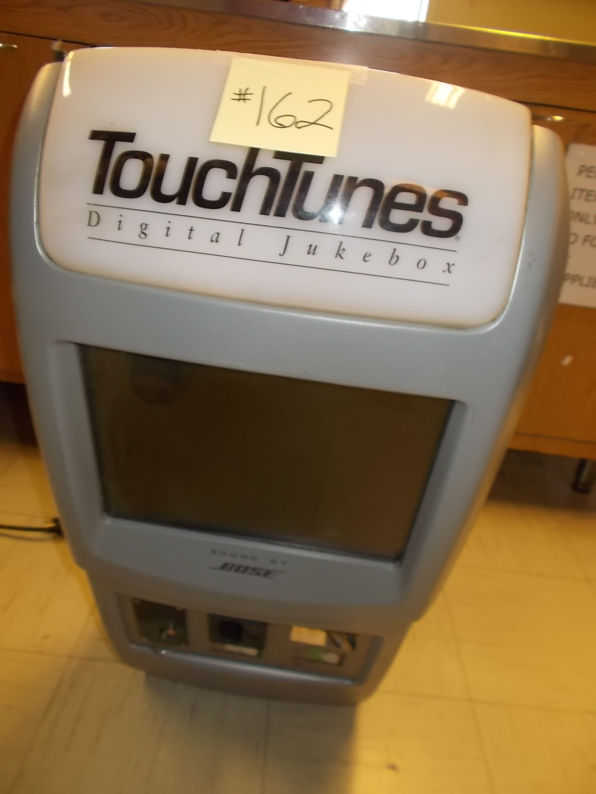 TOUCHTUNES Maestro Jukebox - with monitor - incomplete - for