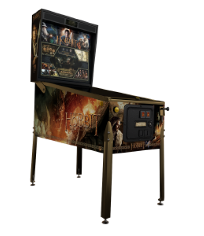 THE HOBBIT Smaug Gold SE Pinball Machine Game for sale by Jersey Jack Pinball