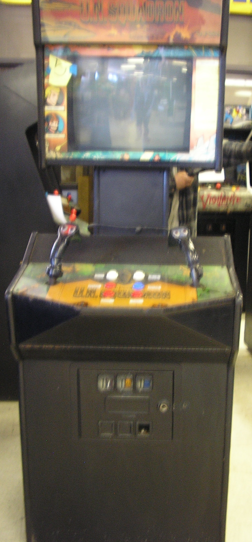 U N Squadron Arcade Machine Game For Sale By Capcom