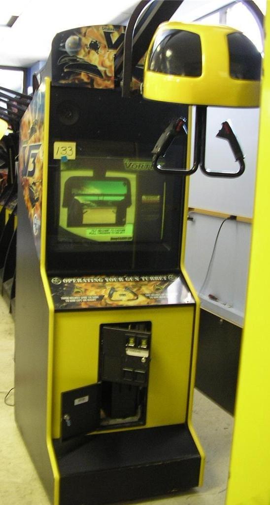 vr vortex v3 arcade machine game for sale by global vr