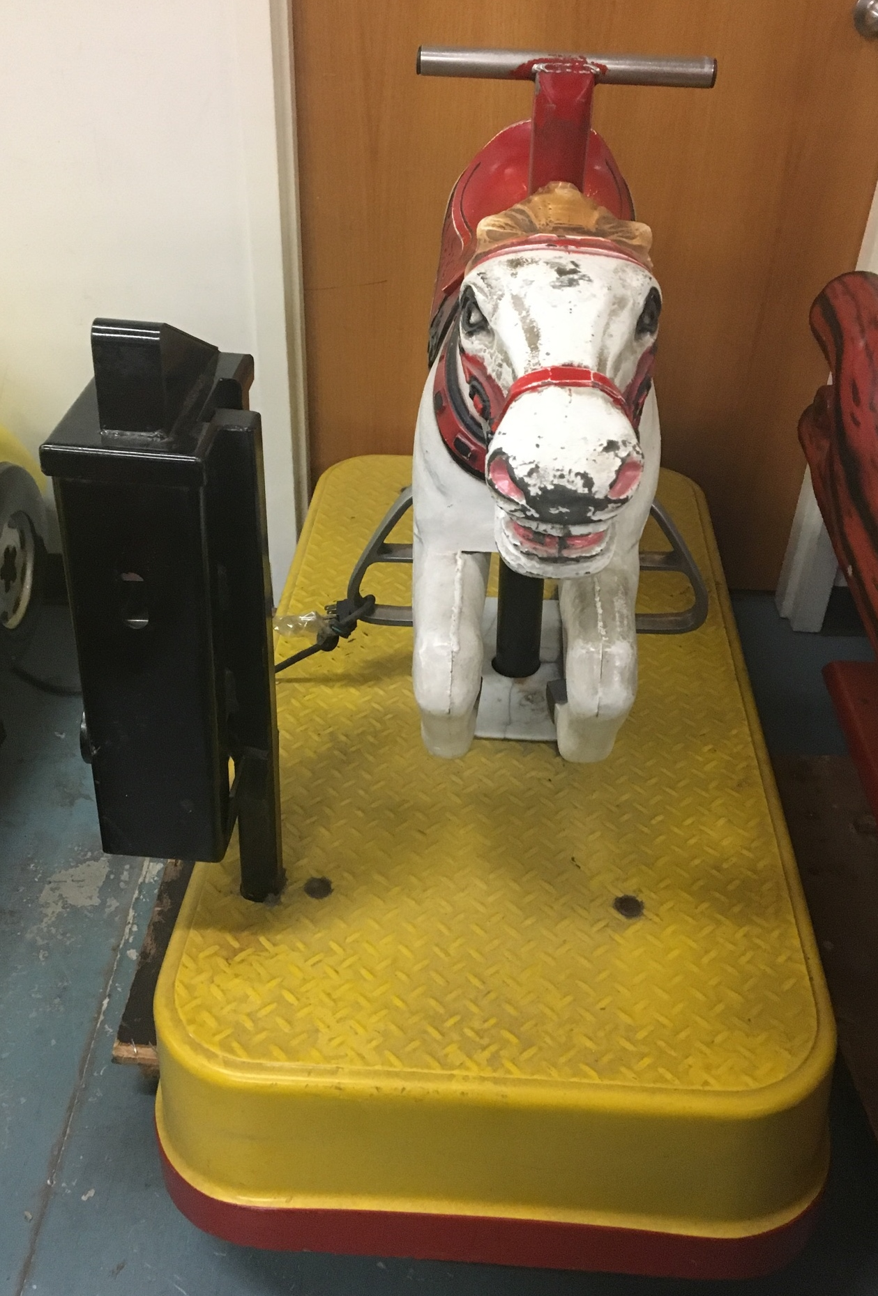White Horse Kiddie Ride For Sale