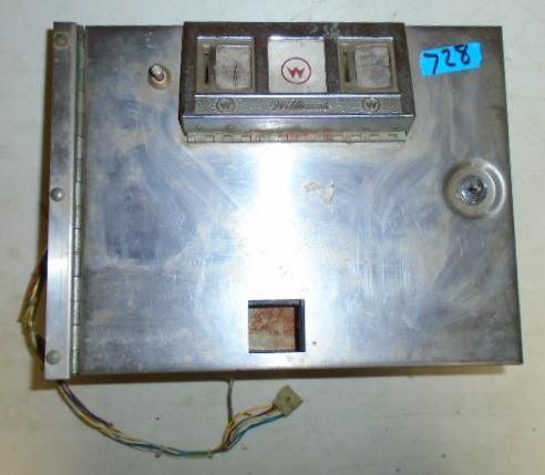 Williams Generic Pinball Machine Game Coin Door 728 For