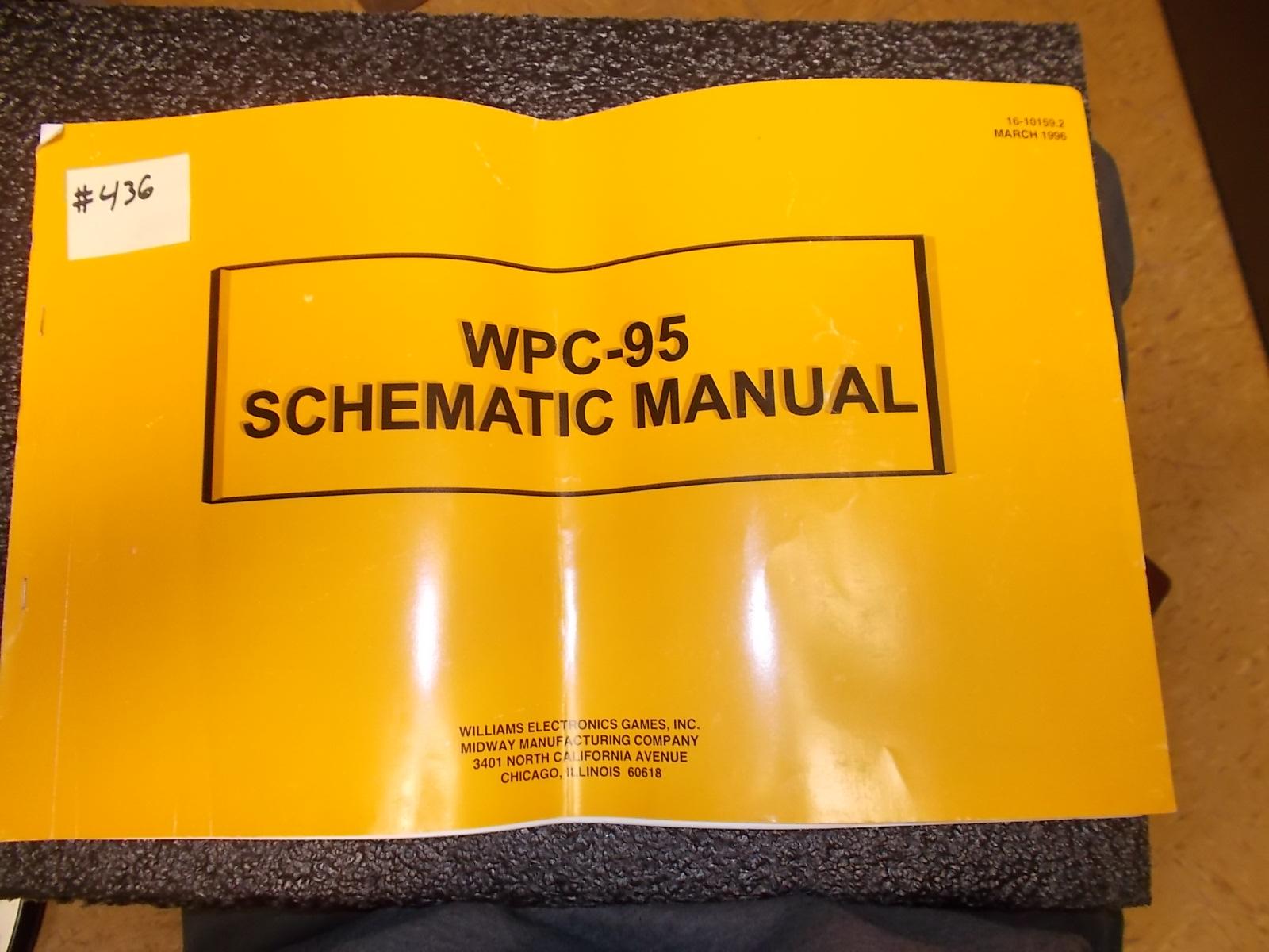 Williams Pinball Parts manual